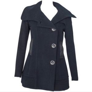 Mackage wool cashmere blend pea coat
